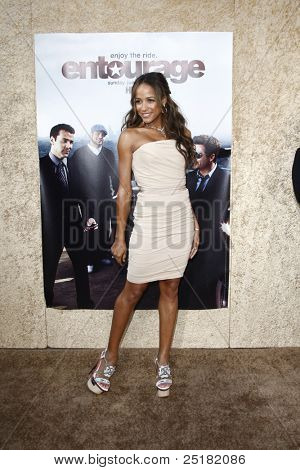 LOS ANGELES - JUNE 16: Dania Ramirez at the premiere of 'Entourage' held at Paramount Studios on June 16, 2010 in Los Angeles, California