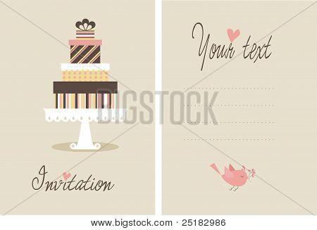 Vektor-Kuchen