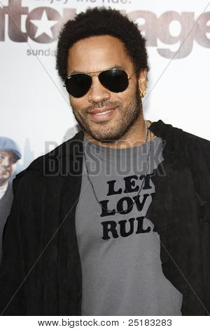 LOS ANGELES - JUNE 16: Lenny Kravitz at the premiere of 'Entourage' held at Paramount Studios on June 16, 2010 in Los Angeles, California
