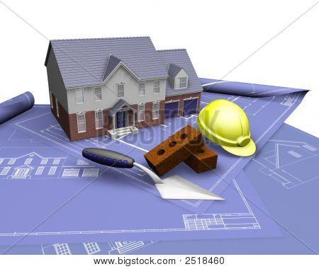 House On Blueprints