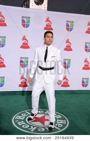 LOS ANGELES - NOV 10:  Taboo arrives at the 12th Annual Latin GRAMMY Awards at Mandalay Bay on November 10, 2011 in Las Vegas, NV