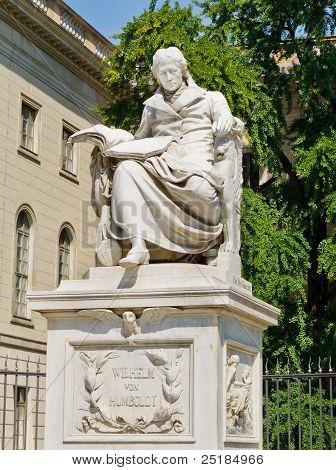 Wilhelm Von Humboldt Statue