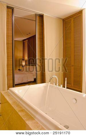 Bathroom Modern And Bedroom Modern