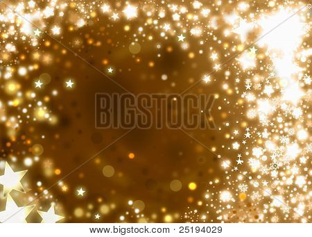 Xmas Gold Background
