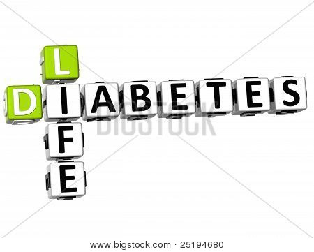 3D Diabetes Life Crossword