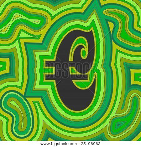 Groovy Money - Green Euro