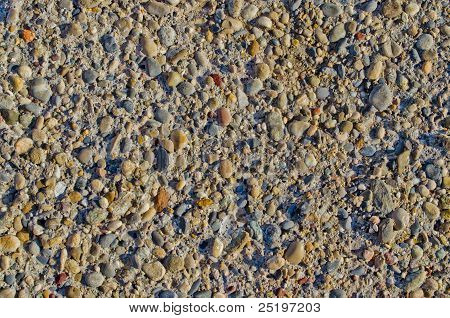 colored rock pattern