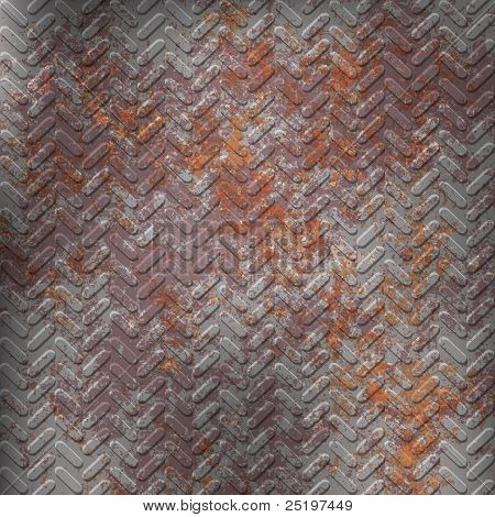 Rusty Grey Metall Texture
