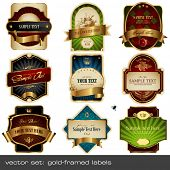 stock photo of aristocrat  - vector set - JPG