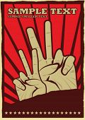 picture of communist symbol  - Soviet Poster Design Series - JPG