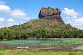 The Sigiriya (lion's Rock) Is An Ancient Rock Fortress And Palace Ruins, Sri Lanka