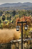 picture of asheville  - Fall in Asheville with Colorful trees in North Carolina - JPG