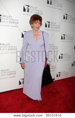 LOS ANGELES - JAN 29:  Marion Ross arrives at the Valley Performing Arts Center Opening Gala at California State University, Northridge on January 29, 2011 in Northridge, CA