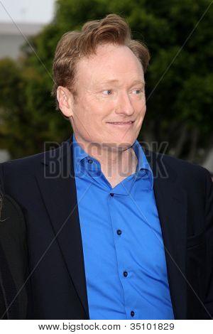 LOS ANGELES - JUN 8:  Conan O'Brien arriving at the