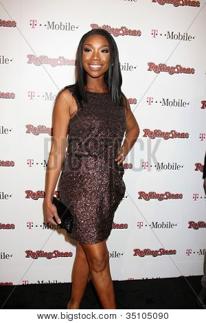 LOS ANGELES - FEB 26:  Brandy Norwood arrives at the Rolling Stone Pre-Oscar Bash 2011 at W Hotel on February 26, 2011 in Hollywood, CA
