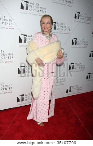 LOS ANGELES - JAN 29:  Anne Jeffreys arrives at the Valley Performing Arts Center Opening Gala at California State University, Northridge on January 29, 2011 in Northridge, CA