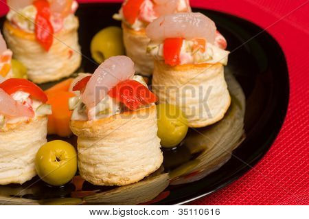 Seafood Vol Au Vents