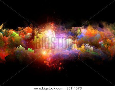 Espuma de Fractal vibrante
