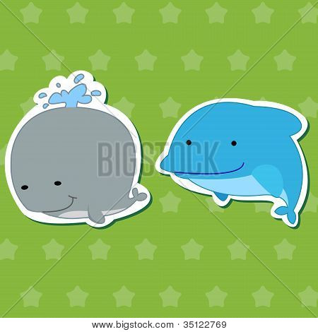 Cute Animal Stickers 03