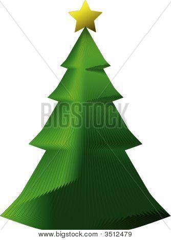 Decorative Paper Xmas Tree