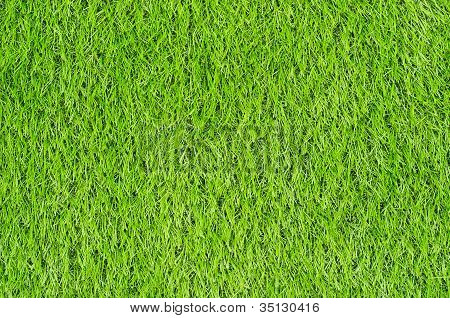 Artificial Green Grass Field