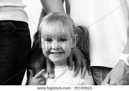 Niedlichen Jungen Kind