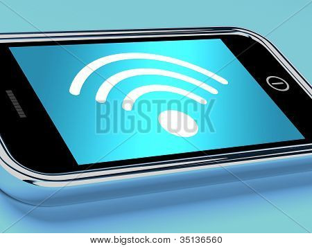 Wifi Internet Connection On A Mobile Phone