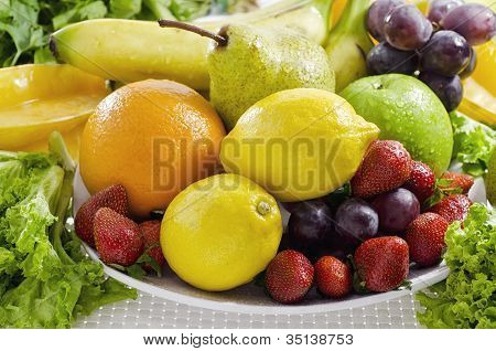 Best Fruit and Vegetables Picture