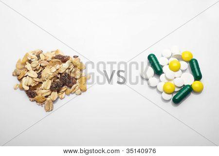 Oatmeal Versus Medicine