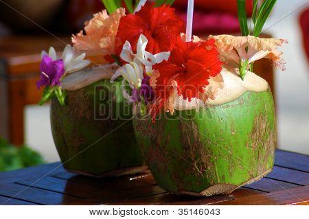 Cocktail in Bora Bora