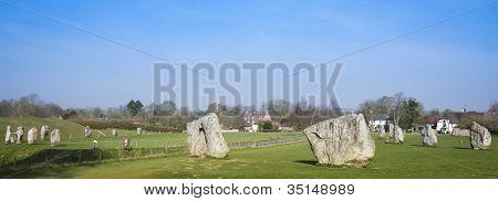 Círculo de pedras de Avebury Standing Stones