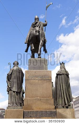 Wenceslas Statue