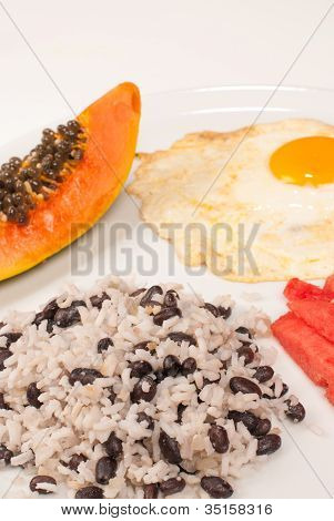 Hearty Central American Breakfast