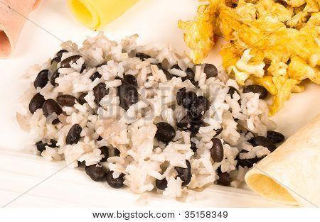 Full Gallo Pinto Breakfast