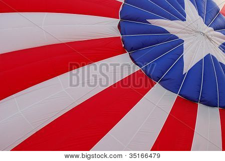Patriotic Hot Air Balloon