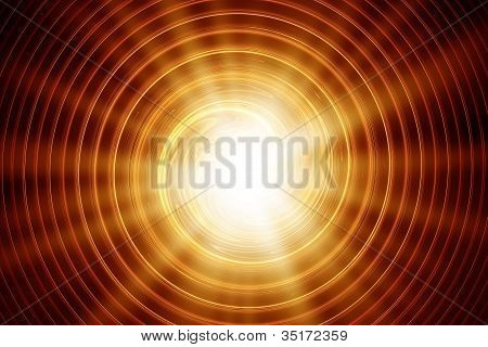 sun abstract