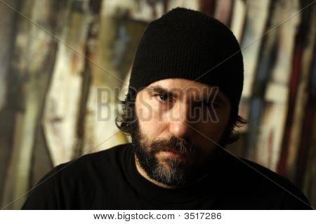 Serious Portrait