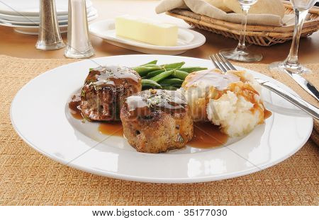 Pork Or Beef Tenderloins