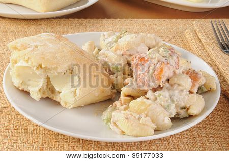 Salmon Past Salad