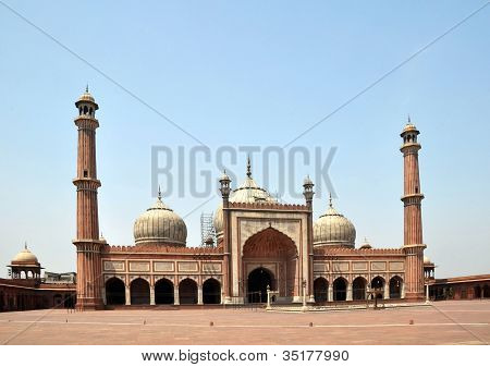 Jama Masjid - Largest Mosque In India