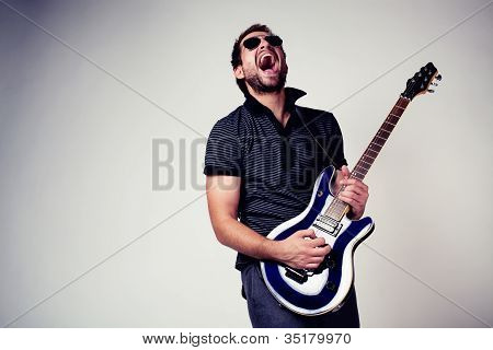 Rockstar Guitar Player