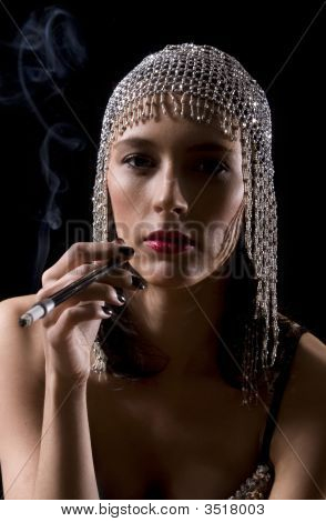 Prostitute Smoking