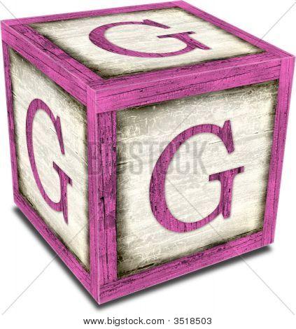 Alpha Block G Pink