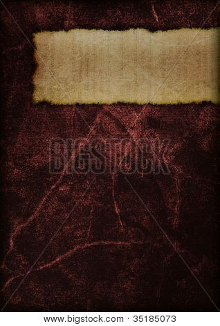 Mysterious Book Cover - Red