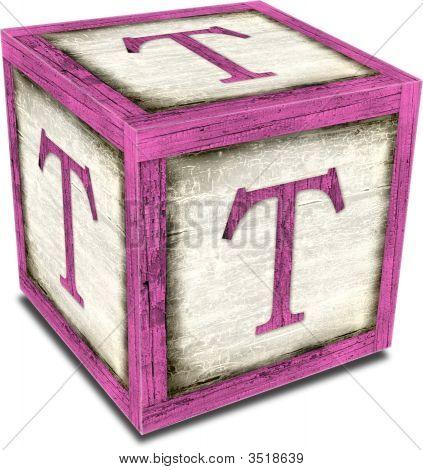 Alpha Block T Pink