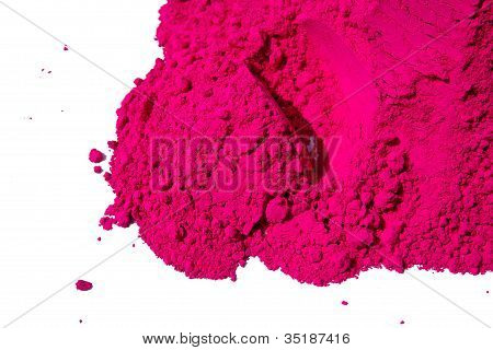 Detail of  color for holi