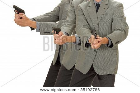 Aiming Pistol Ditective