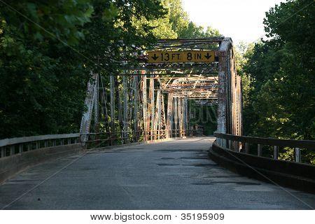 Old Route 66 Bridge in Devil's Elbow Pulaski County Missouri