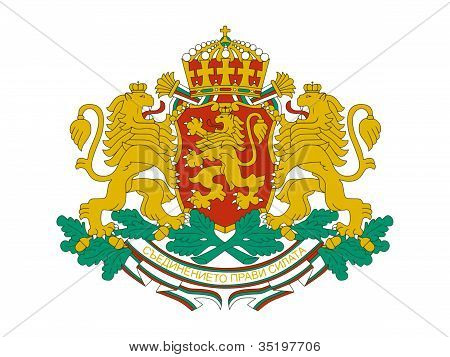 national coat of arms of Bulgaria