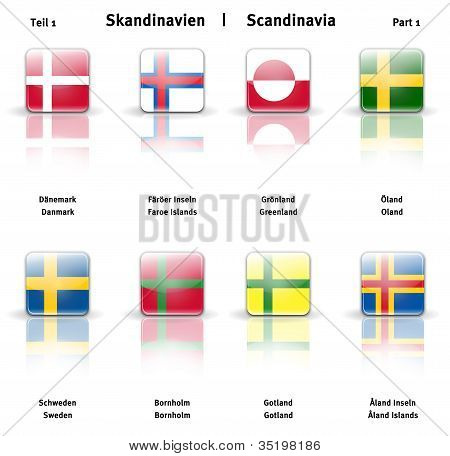Glossy  Icons Scandinavia (part 1)